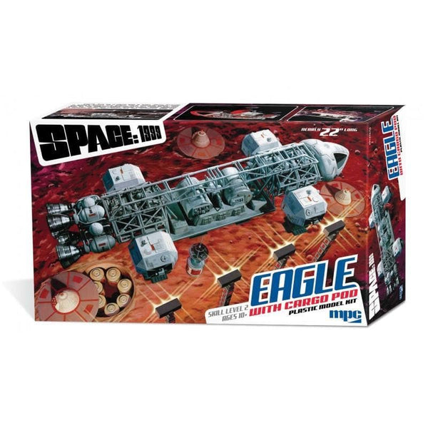 1:48 Space: 1999 Eagle Transporter with Cargo Pod