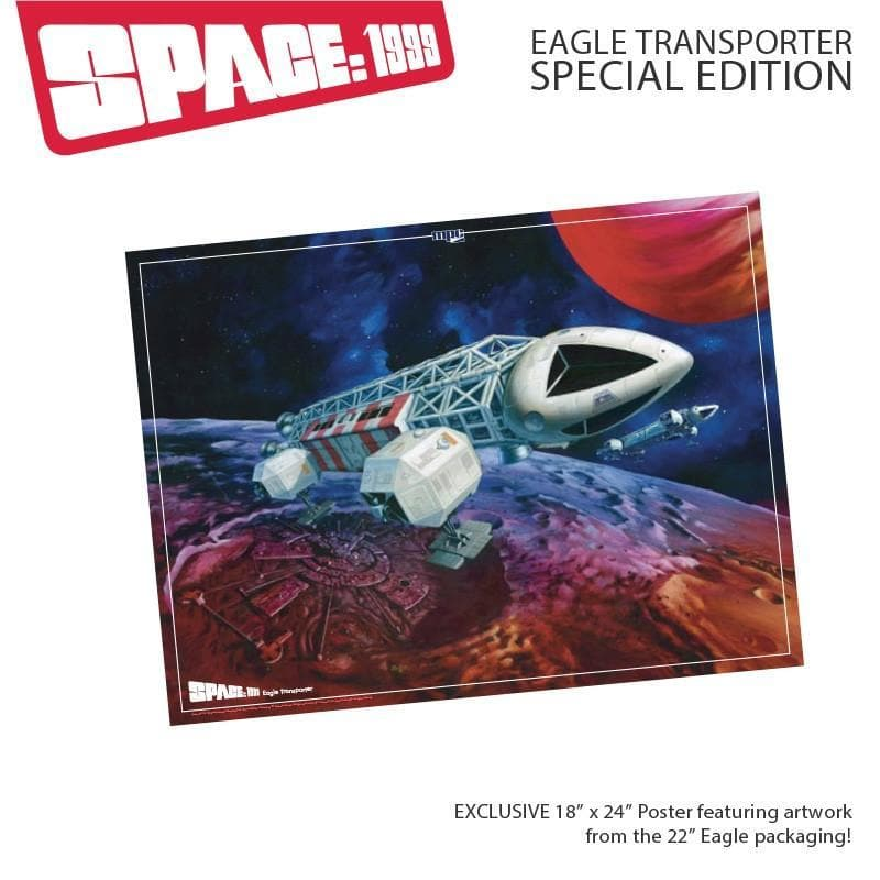 Space:1999 Eagle Transporter (Special Edition)-Bonus Artwork & Signed Mini Print