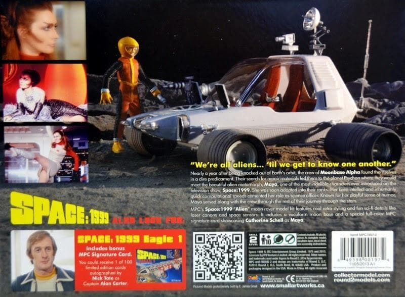 Space:1999 'The Alien' Moon Buggy