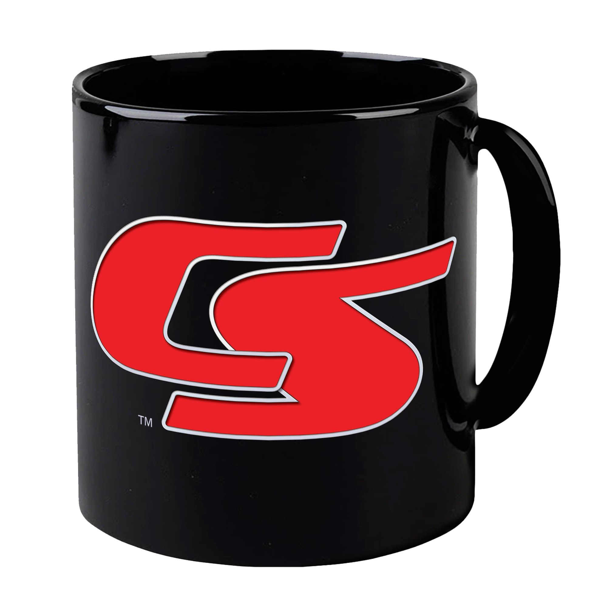 New Captain Scarlet Logo Mug - Black [Official & Exclusive] - The Gerry Anderson Store