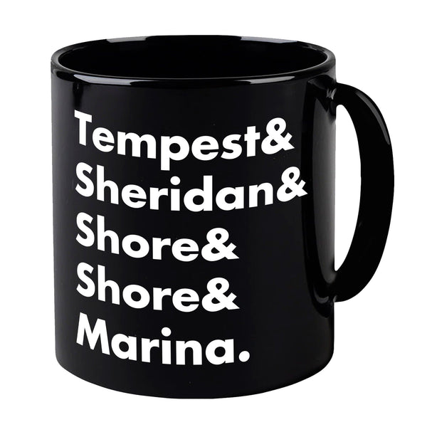 Heroes of Marineville Stingray Black Mug [Official & Exclusive] - The Gerry Anderson Store