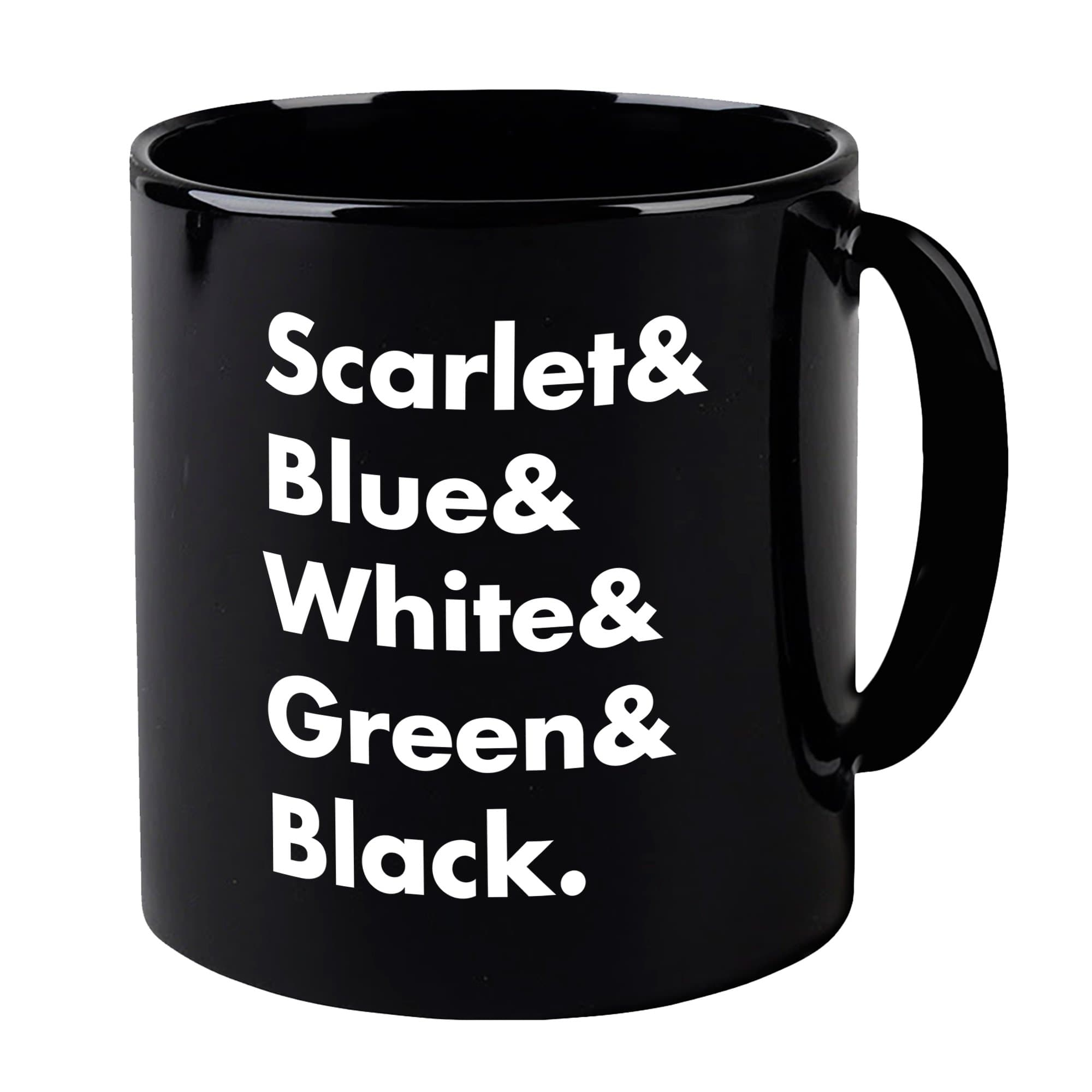Heroes of Captain Scarlet and the Mysterons Black Mug [Official & Exclusive] - The Gerry Anderson Store