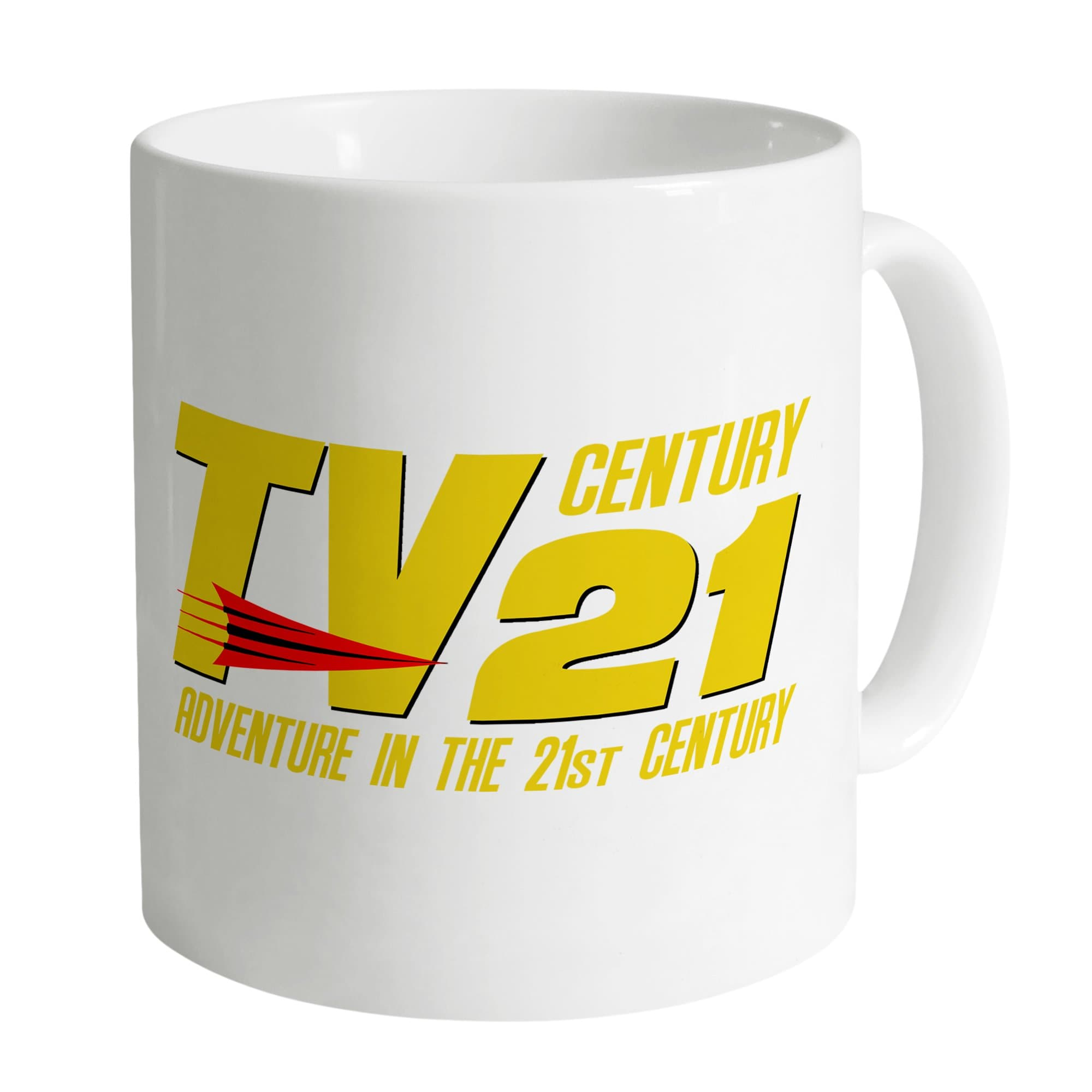TV21 Logo Mug - White [Official & Exclusive]