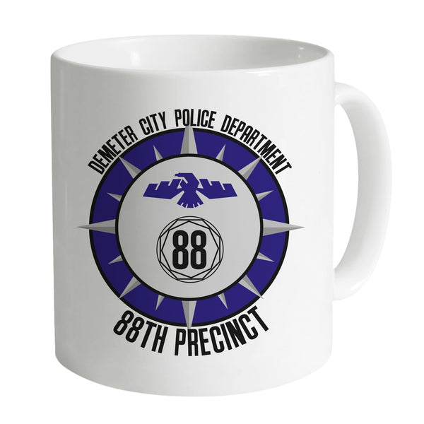 Space Precinct Demeter City Police Department Mug - The Gerry Anderson Store