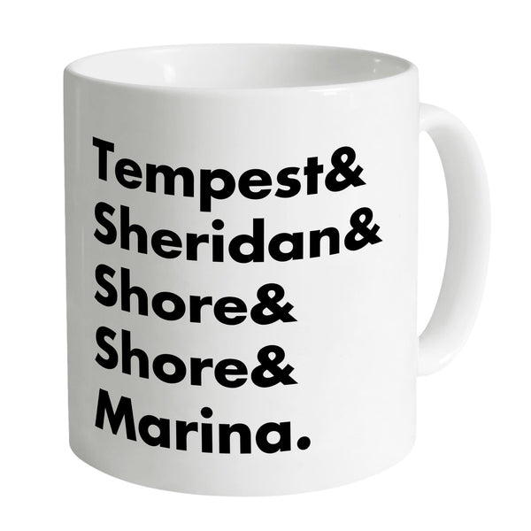Heroes of Marineville Stingray White Mug [Official & Exclusive] - The Gerry Anderson Store