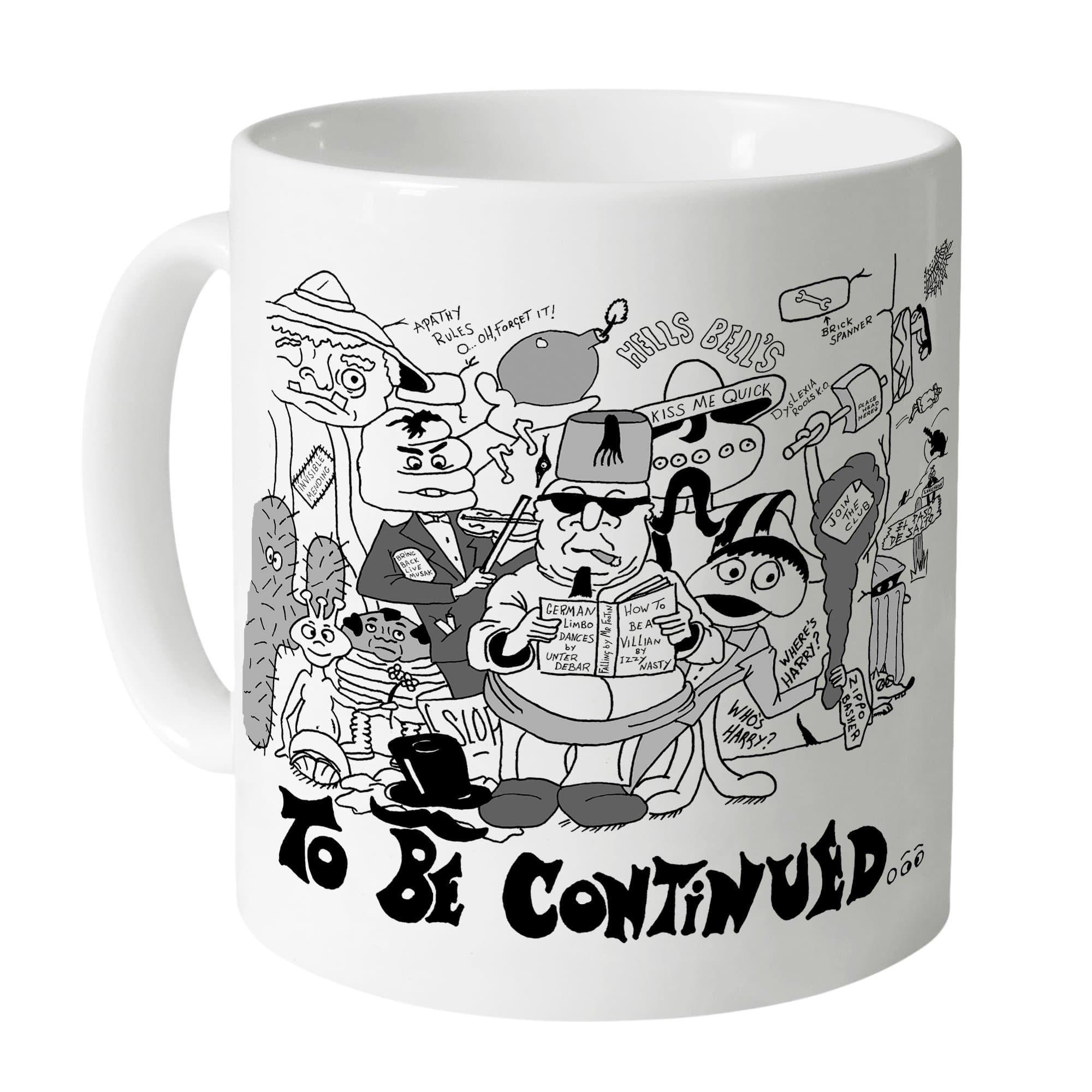 Dick Spanner Comic Strip Mug [Official & Exclusive] - The Gerry Anderson Store