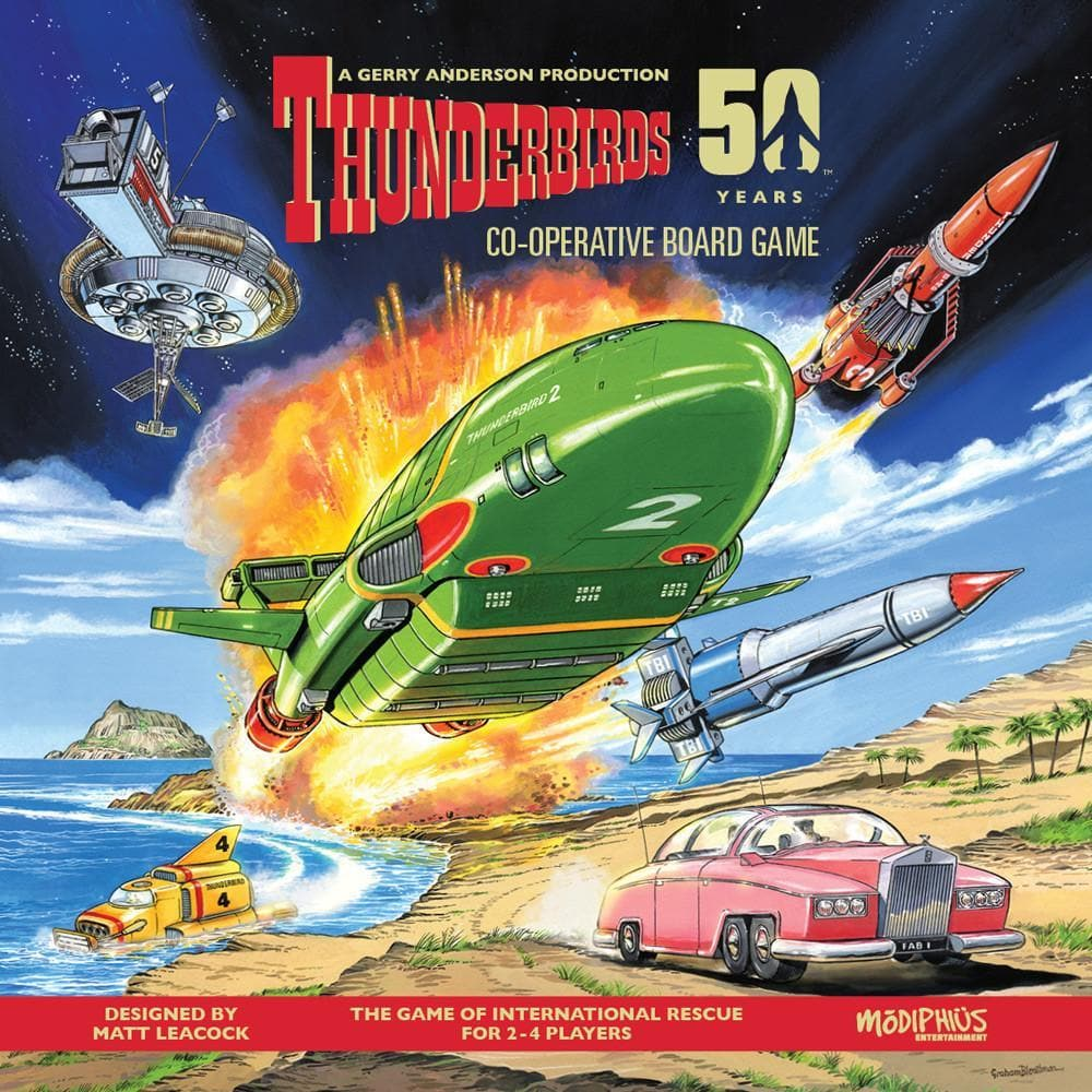 Thunderbirds Co-operative Board Game - Gerry Anderson Official - 1