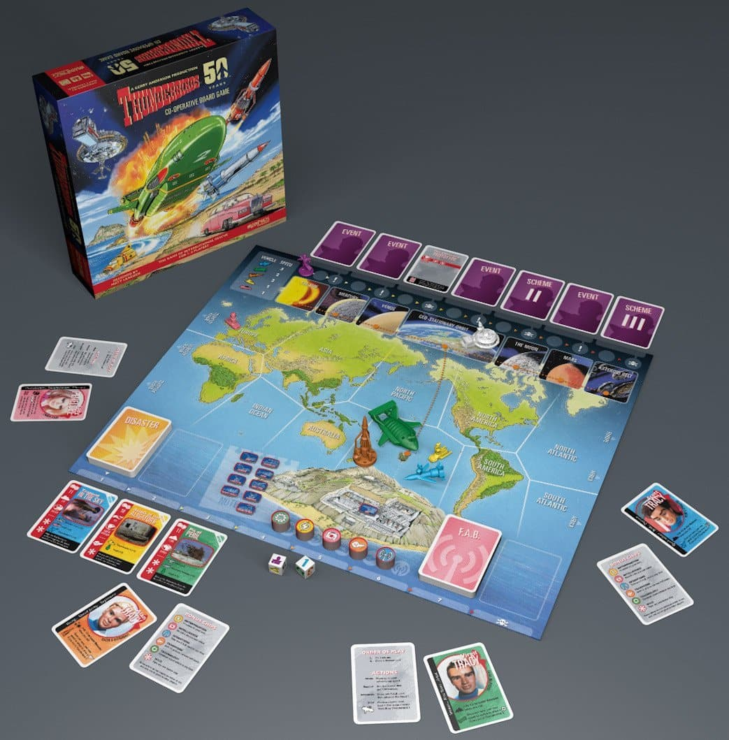 Thunderbirds Co-operative Board Game - Gerry Anderson Official - 2