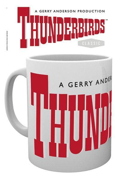 Thunderbirds Mug - Thunderbirds Logo - Gerry Anderson Official
