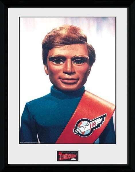 Tracy Brothers Portrait Set - Thunderbirds Prints [Framed] - Gerry Anderson Official - 7