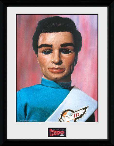 Tracy Brothers Portrait Set - Thunderbirds Prints [Framed] - Gerry Anderson Official - 4