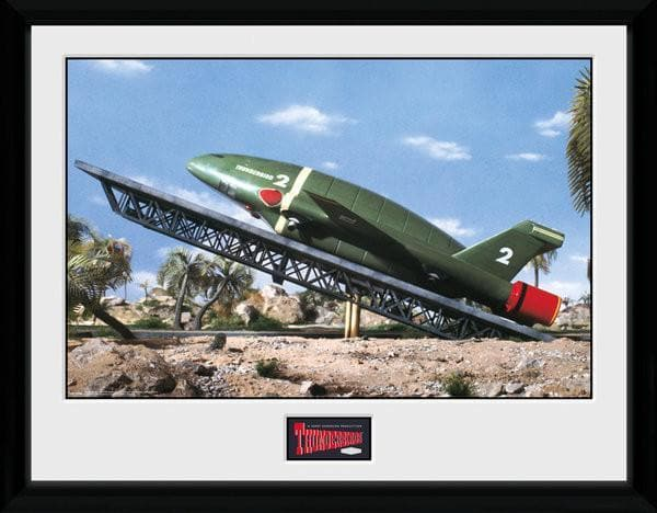 Thunderbird 2 Launch ramp - Thunderbirds Print [Framed] - Gerry Anderson Official