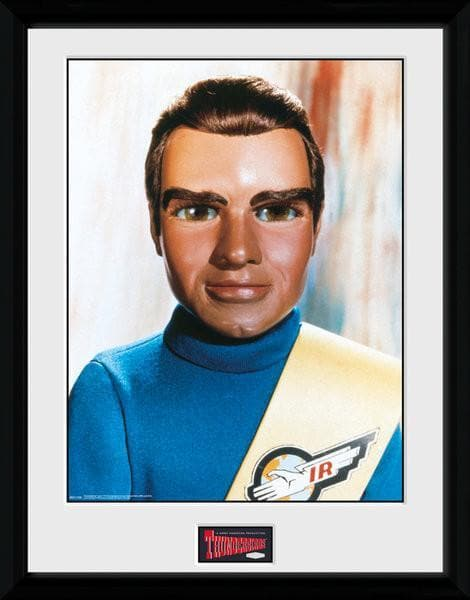 Tracy Brothers Portrait Set - Thunderbirds Prints [Framed] - Gerry Anderson Official - 5