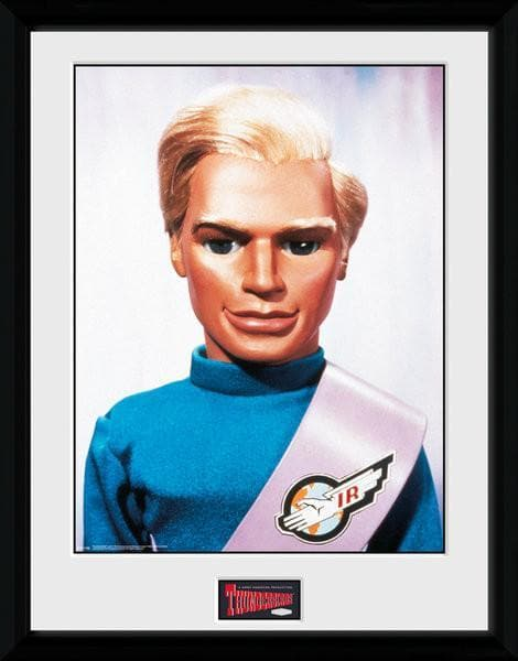 Tracy Brothers Portrait Set - Thunderbirds Prints [Framed] - Gerry Anderson Official - 3