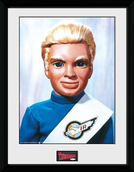 Tracy Brothers Portrait Set - Thunderbirds Prints [Framed] - Gerry Anderson Official - 6