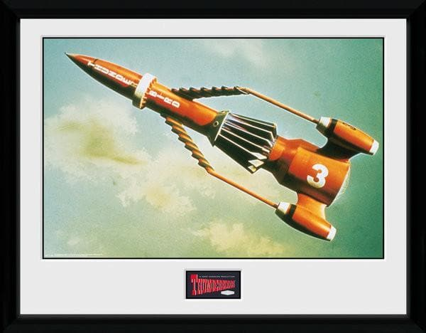 Thunderbird 3 - Thunderbirds Print [Framed] - Gerry Anderson Official