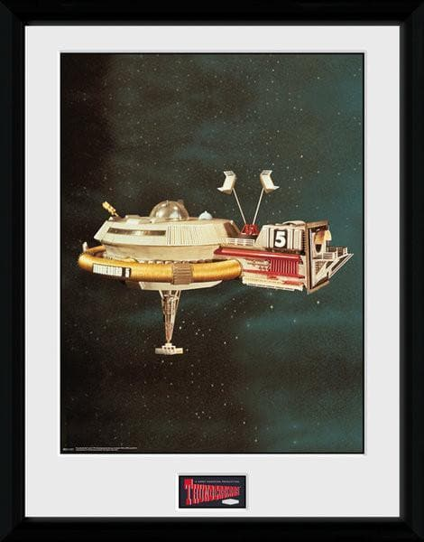 Set of 5 Thunderbirds Vehicle Prints [Framed] - SAVE 20% - Gerry Anderson Official - 6