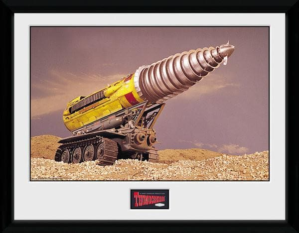 The Mole - Thunderbirds Print [Framed] - Gerry Anderson Official