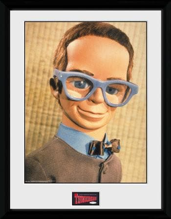 Brains - Thunderbirds Print [Framed] - The Gerry Anderson Store