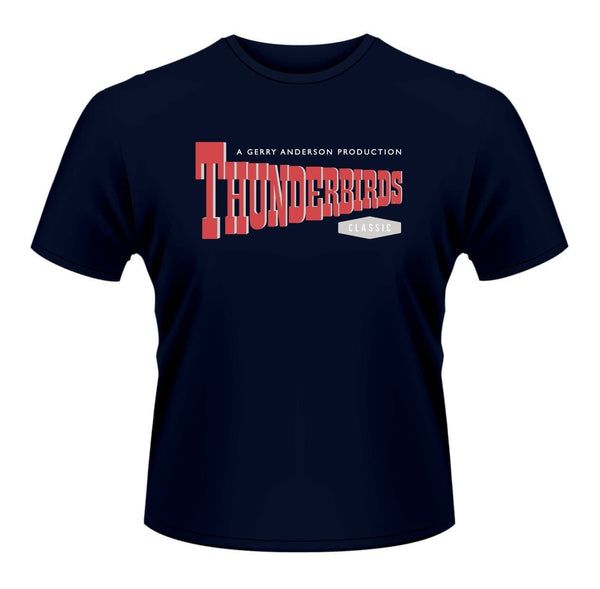 Thunderbirds logo - Thunderbirds T-shirt - Gerry Anderson Official - 1
