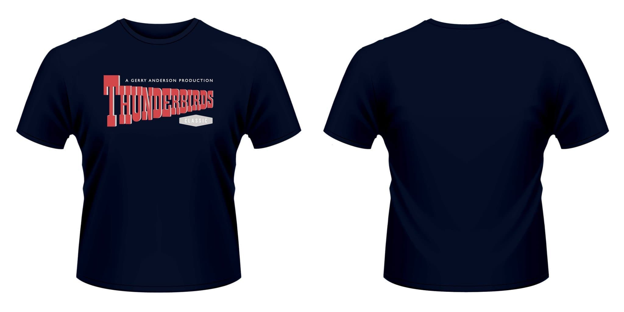 Thunderbirds logo - Thunderbirds T-shirt - Gerry Anderson Official - 2
