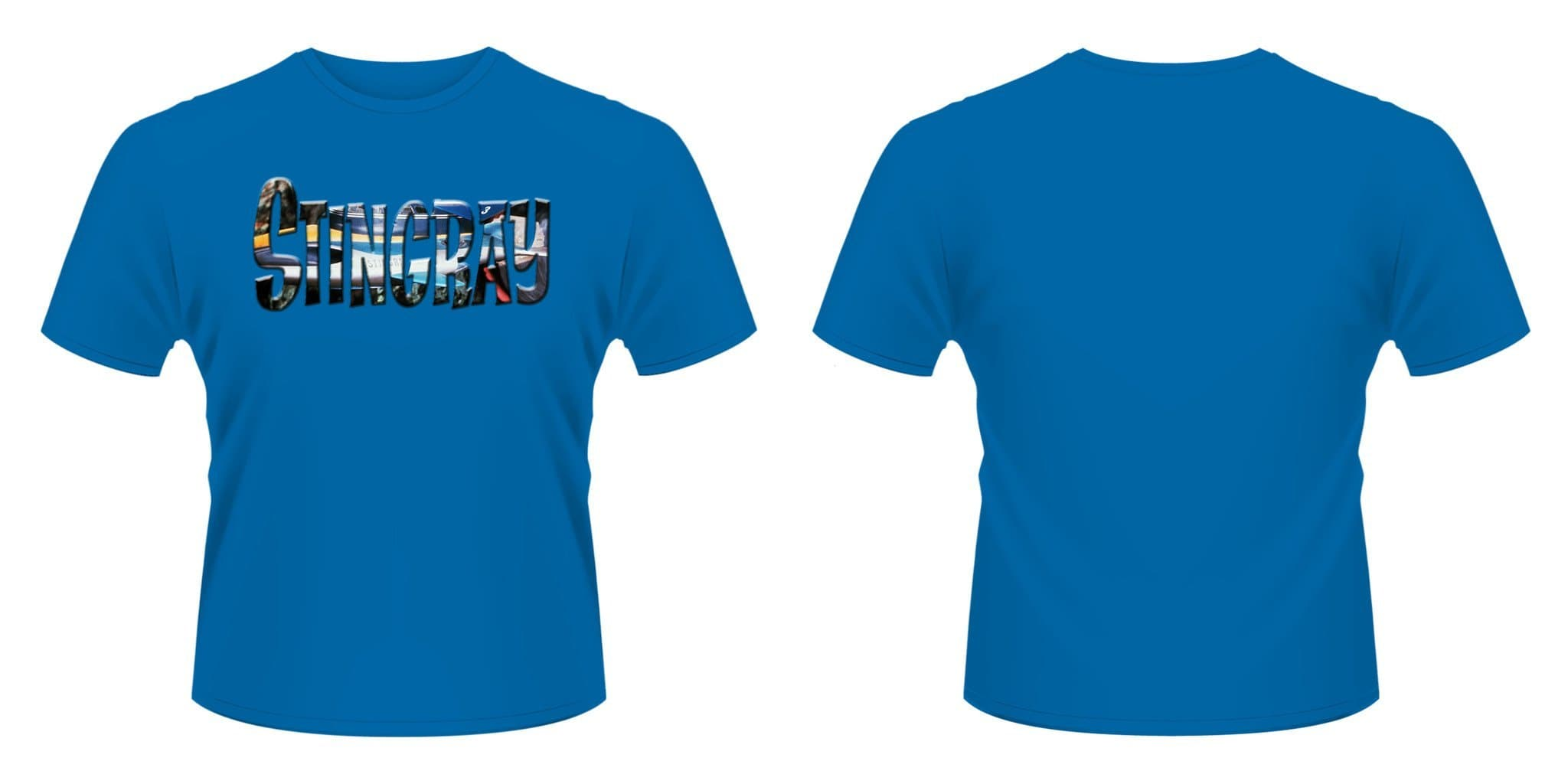 Stingray T-shirt [Blue] - Gerry Anderson Official - 2