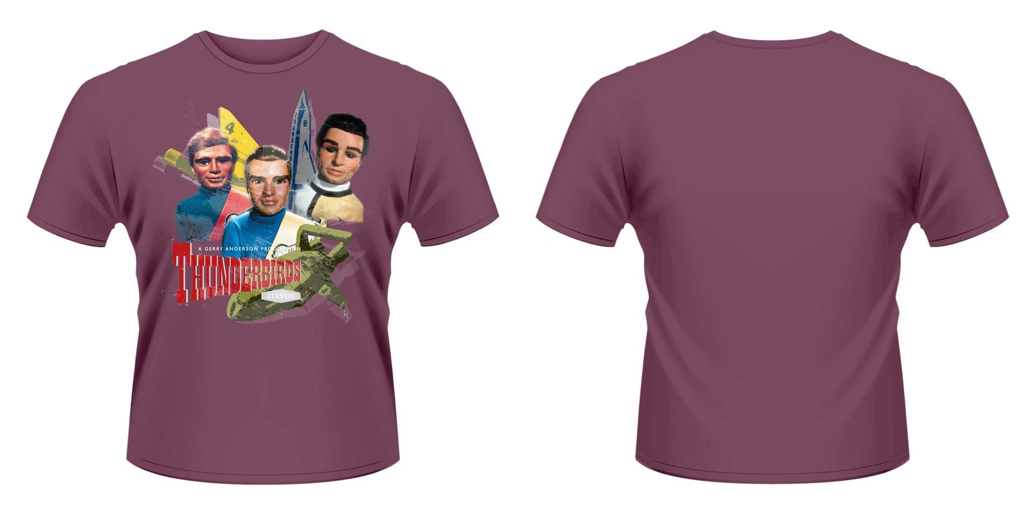 Tracy Brothers - Thunderbirds T-shirt - Gerry Anderson Official - 2