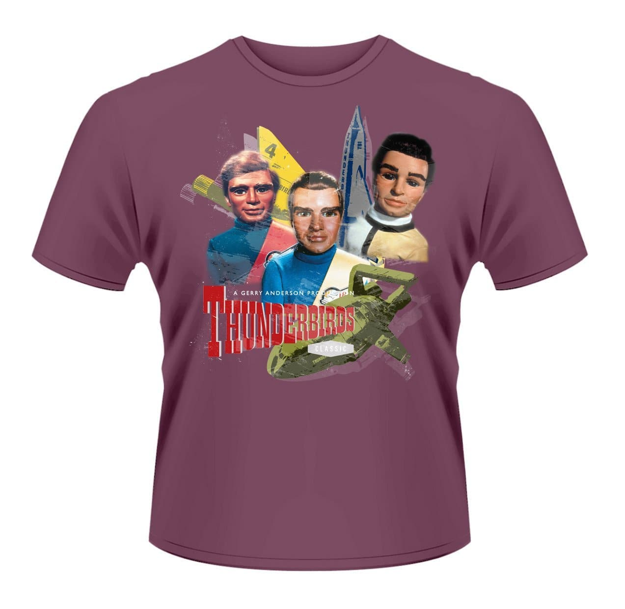 Tracy Brothers - Thunderbirds T-shirt - Gerry Anderson Official - 1