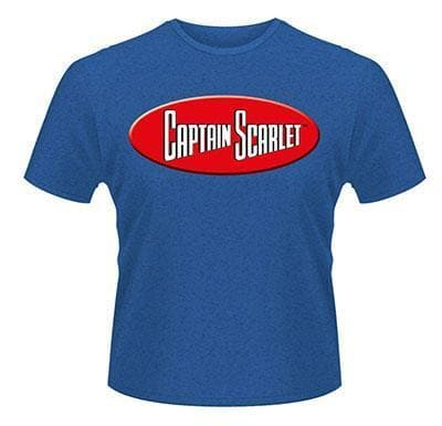 Captain Scarlet Logo T-Shirt - The Gerry Anderson Store