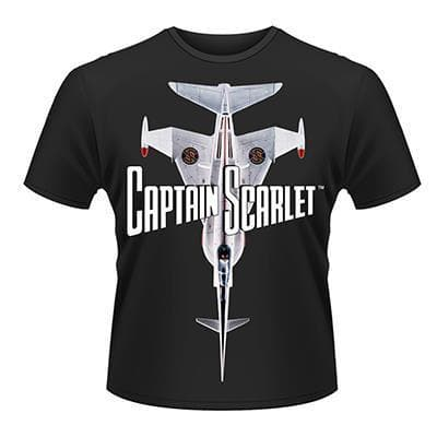 Captain Scarlet Angel Interceptor T-Shirt - Gerry Anderson Official - 1