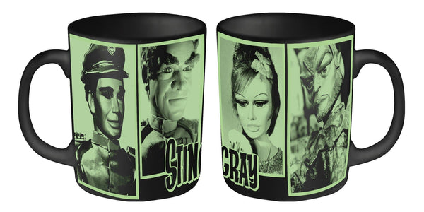 Stingray Mug featuring Troy, Titan, Marina, and Commander Shore - The Gerry Anderson Store