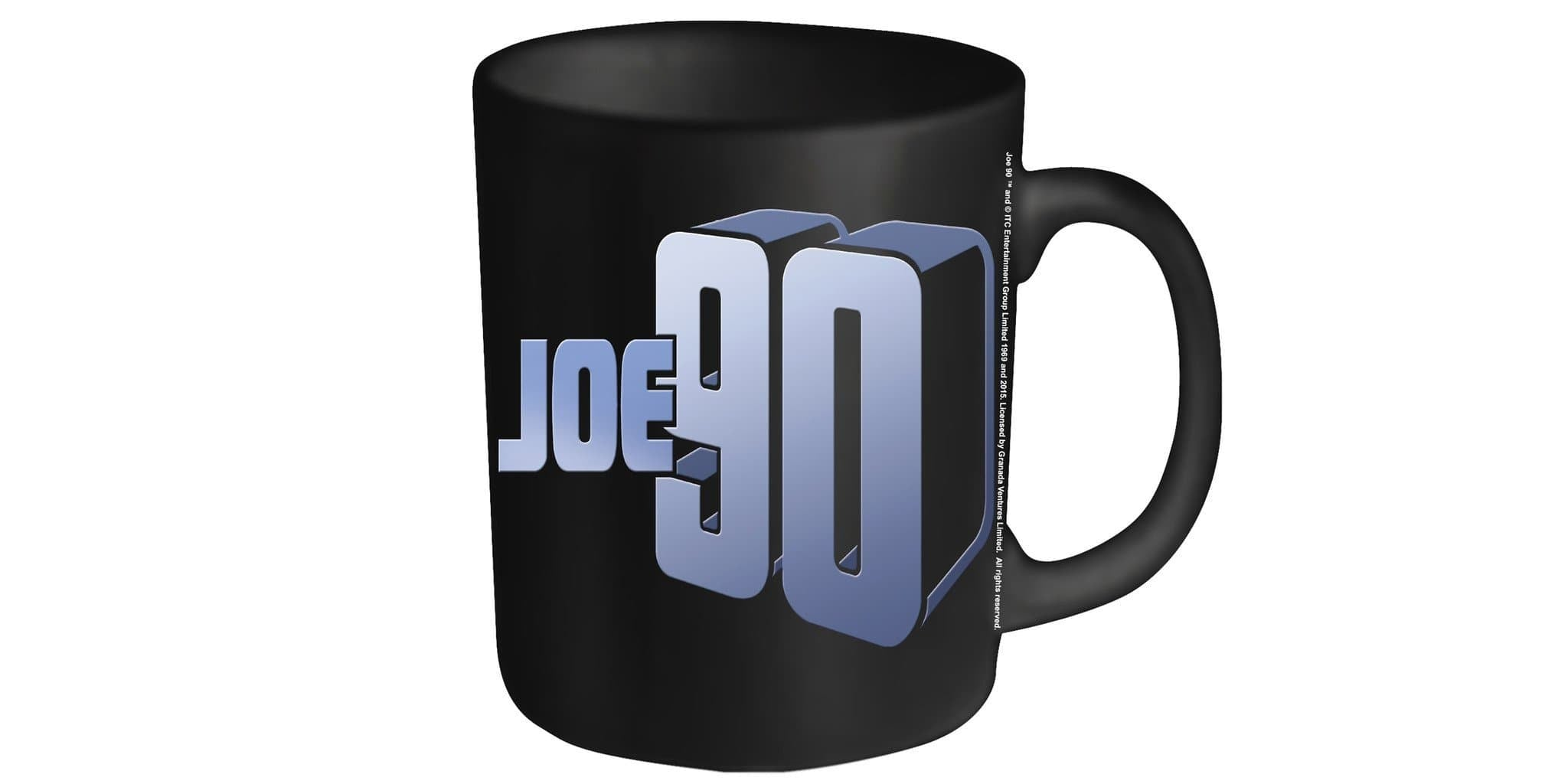 Joe 90 Mug - Joe 90 Logo - The Gerry Anderson Store