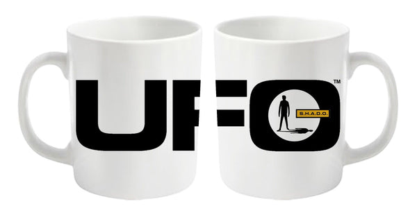 UFO Mug featuring UFO and SHADO logos - Gerry Anderson Official