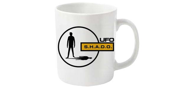 UFO Mug featuring SHADO logo - Gerry Anderson Official