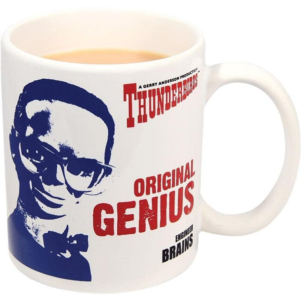 Thunderbirds Mug - Brains: Original Genius - Gerry Anderson Official - 1