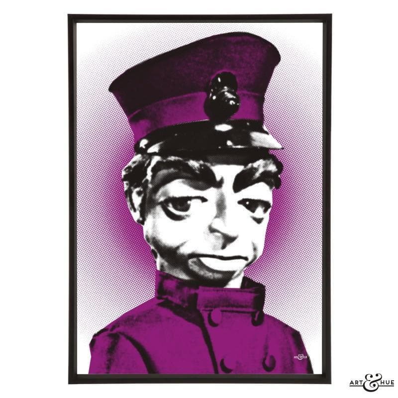 Pop art portrait of Parker - The Gerry Anderson Store