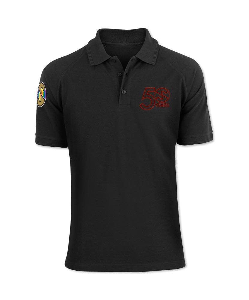 Exclusive Captain Scarlet 50th Anniversary Polo Shirt - The Gerry Anderson Store