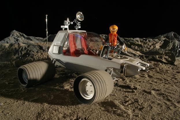 Space: 1999 'The Alien' Moon Buggy