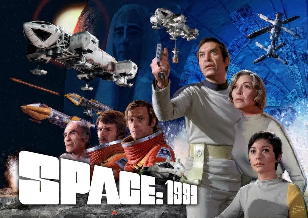 Official Space 1999 Poster: Season 1 - The Gerry Anderson Store