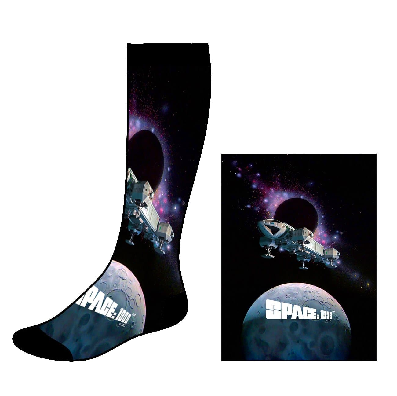 Space: 1999 Socks [Official & Exclusive] - The Gerry Anderson Store