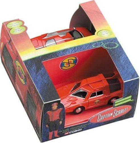 Corgi Captain Scarlet Classic Spectrum Saloon Car and Cheetah Set - The Gerry Anderson Store