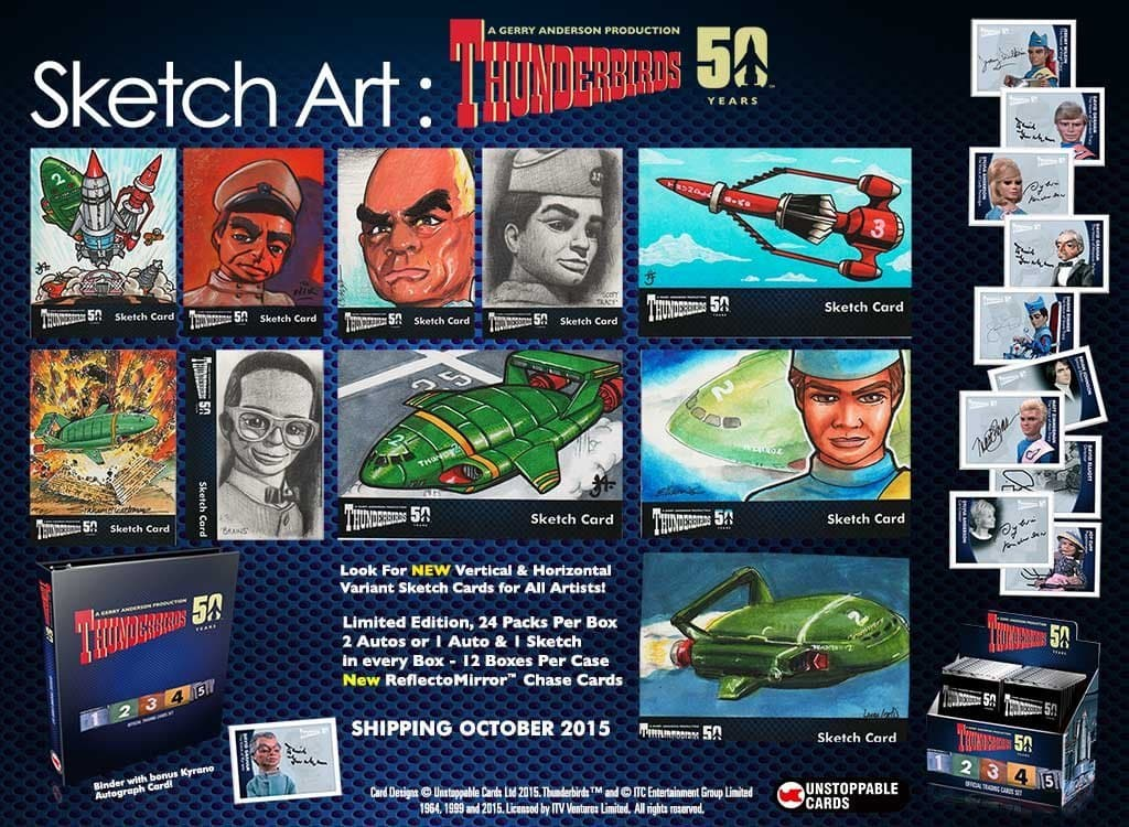 Classic Thunderbirds Trading Cards [50th Anniversary] - Gerry Anderson Official - 4