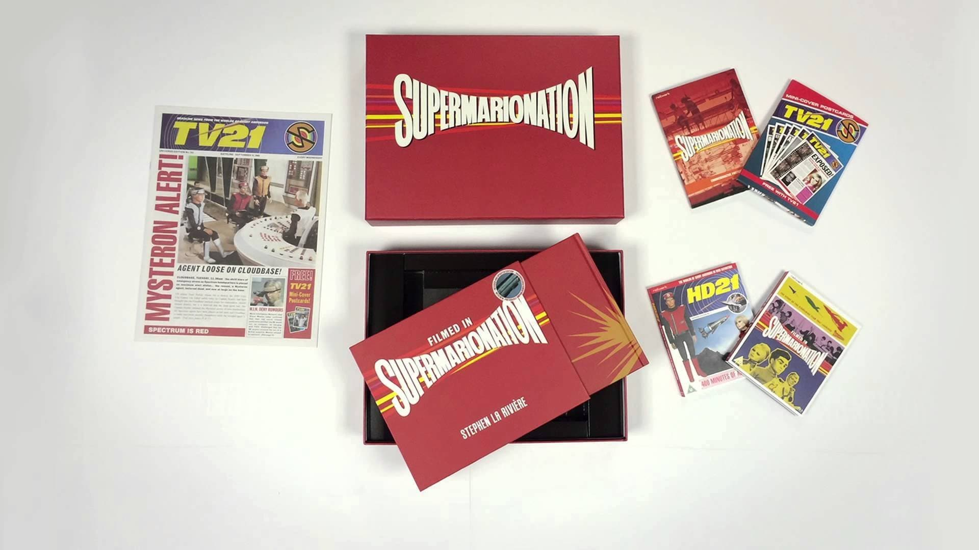Supermarionation Box Set [Limited edition of 2,500] - The Gerry Anderson Store