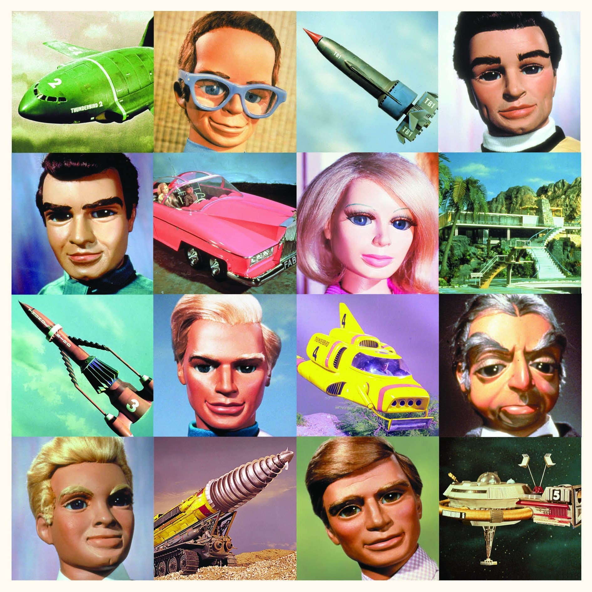 Official Thunderbirds Blank Greetings Card - The Gerry Anderson Store