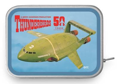 Thunderbird 2 Tin Amp - available now with 2 week delivery time - Gerry Anderson Official - 3