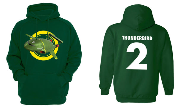Thunderbird 2 Hoodie [Official & Exclusive] - The Gerry Anderson Store