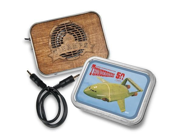 Thunderbird 2 Tin Amp - available now with 2 week delivery time - Gerry Anderson Official - 2