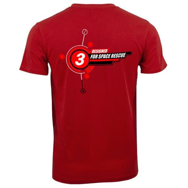 "Gerry Anderson inspired ""3"" T-shirt [3 of 5] - Gerry Anderson Official - 1"