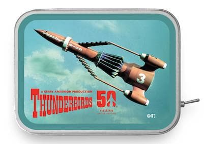 Thunderbird 3 Tin Amp - available now with 2 week delivery time - Gerry Anderson Official - 3