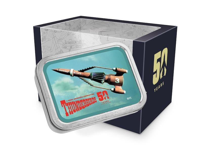Thunderbird 3 Tin Amp - available now with 2 week delivery time - Gerry Anderson Official - 1